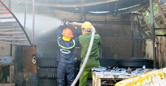 """Đà Nẵng: """"Không có chuyện cháy kho hàng thủy sản trị giá hàng tỷ đồng"""""""