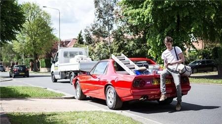 Siêu xe bán tải Ferrari đầu tiên trên thế giới