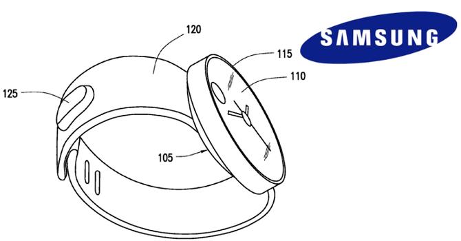 Samsung nộp bằng sáng chế đồng hồ thông minh điều khiển bằng cử chỉ