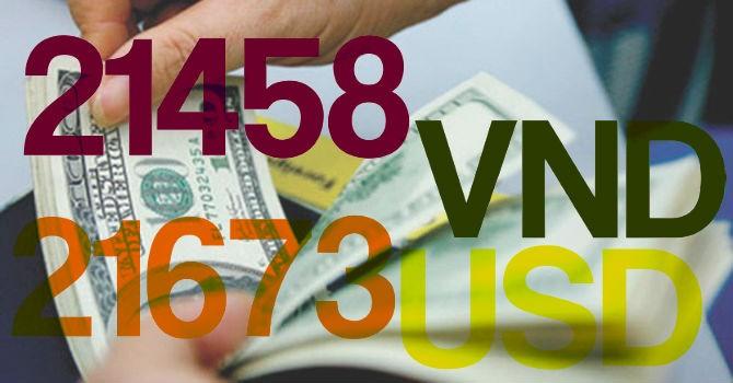 """Ngân hàng Nhà nước """"bất ngờ"""" điều chỉnh tỷ giá USD/VND thêm 1%"""