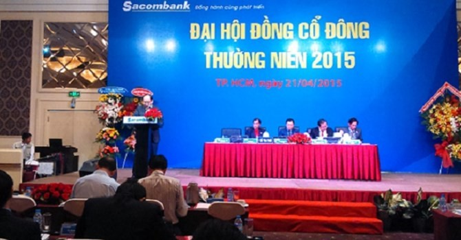 Ngày 30/6, Sacombank họp cổ đông bàn chuyện sáp nhập với Phương Nam