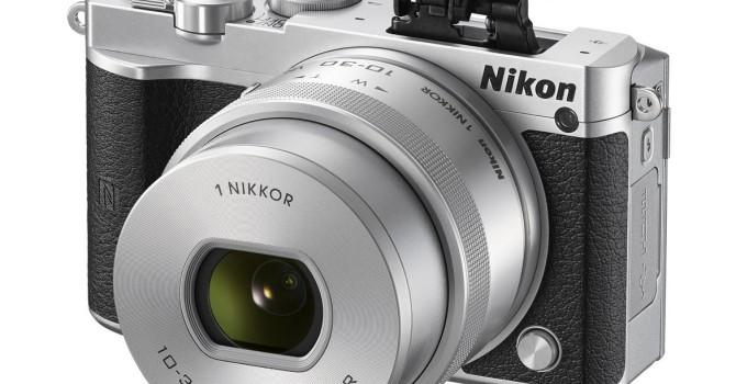 Nikon ra mắt máy ảnh không gương mới Nikon 1J5