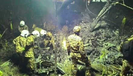 Trực thăng rơi, hai quan chức cấp cao tử nạn