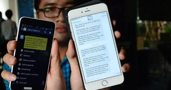 Bỗng dưng bị khóa tin nhắn: cần thông tin rõ ràng