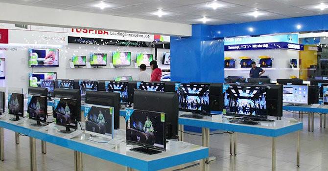 Tháng 3, thị trường bán lẻ điện tử điện máy sụt giảm