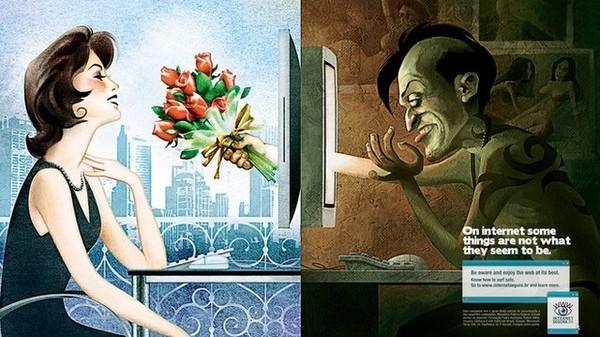Sử dụng mạng xã hội để lừa đảo