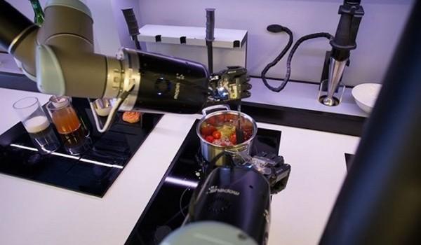 Xuất hiện Robot đầu bếp đầu tiên trên thế giới