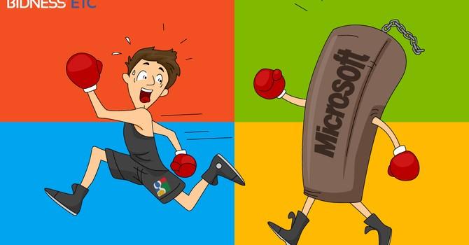 """Microsoft """"đổ dầu vào lửa"""" vụ EU kiện Google độc quyền"""