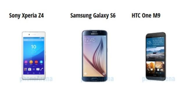 So sánh nhanh Xperia Z4, Galaxy S6 và One M9