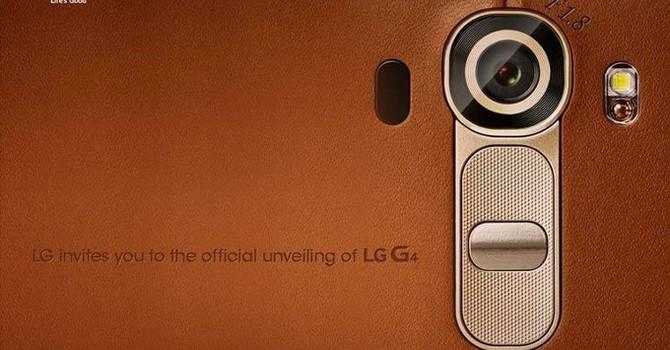 LG G4 chính thức ra mắt