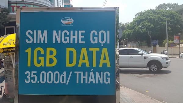 SIM 3G giá rẻ như bèo