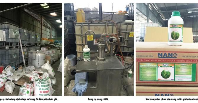 Vạch trần thủ đoạn làm phân bón giả của Công ty Thuận Phong