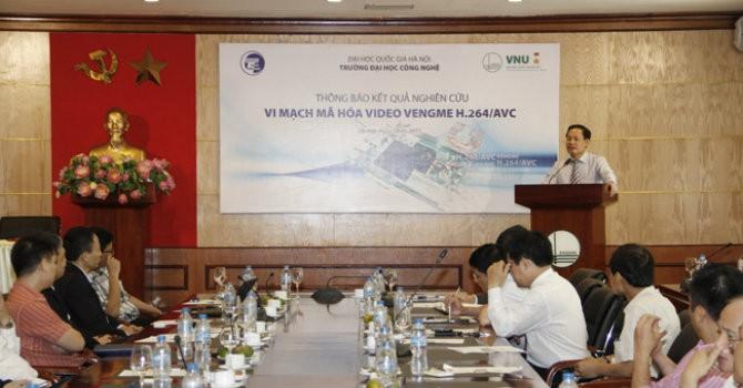 Việt Nam chế tạo thành công vi mạch chuyên dụng mã hoá video