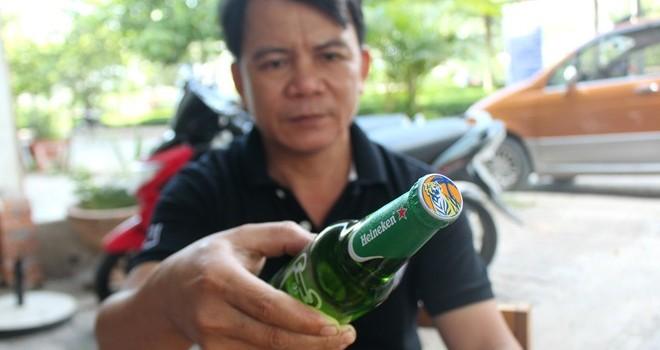 Bia Heineken đóng nắp Tiger ở miền Tây