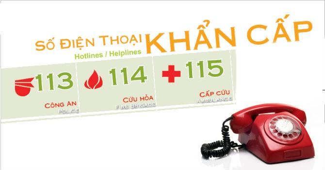 TP.HCM: Liên thông 3 tổng đài khẩn cấp 113, 114, 115