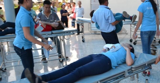 Đồng Nai: Hàng chục công nhân nhập viện do hít phải khí độc