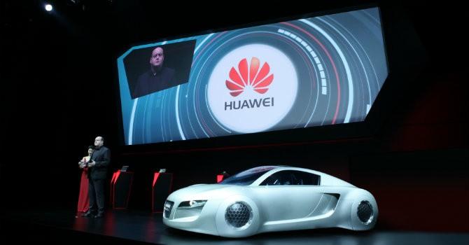 Huawei bắt tay Audi khai thác công nghệ kết nối xe hơi