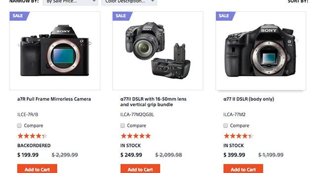 Dân mạng Việt thất vọng vì Sony hủy đơn hàng mua máy ảnh giá rẻ