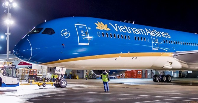 [Infographics] Chi tiết chiếc Boeing 787-9 của Vietnam Airlines
