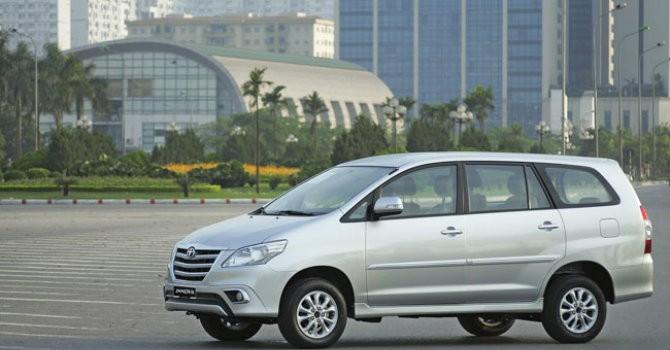 Toyota Việt Nam tăng trưởng 38% trong tháng 5/2015