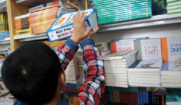 Kinh doanh sách ngày càng gian khó