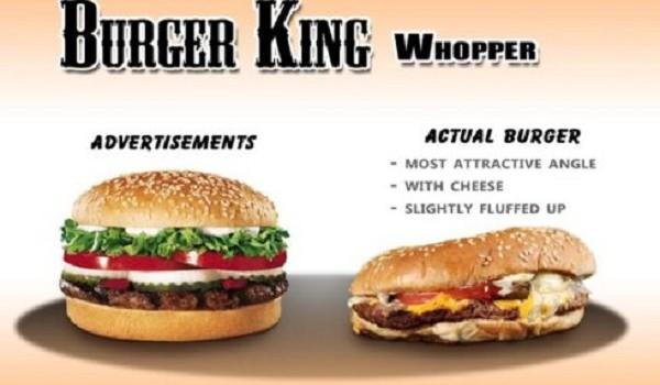 Sự thật phũ phàng khi trót tin quảng cáo đồ ăn nhanh