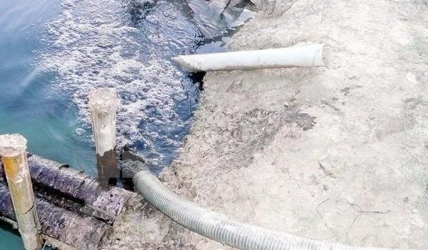 Xả thải ra môi trường, một doanh nghiệp bị phạt 88 triệu đồng
