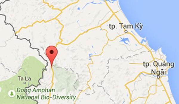 Quảng Nam: Xe giường nằm rơi xuống vực, hơn 40 người gặp nạn