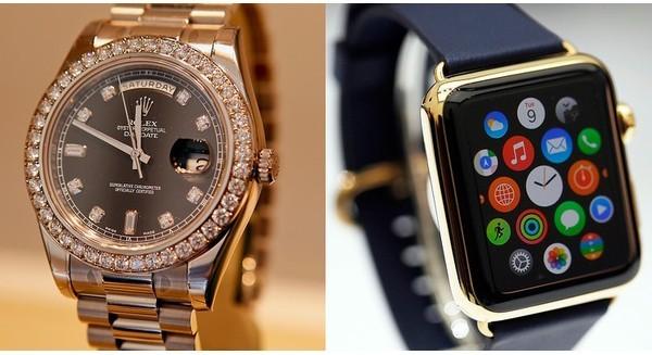 Apple Watch khiến doanh số xuất khẩu đồng hồ Thụy Sĩ giảm mạnh