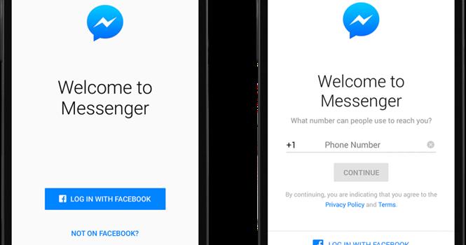 Facebook cho chat Messenger không cần tài khoản