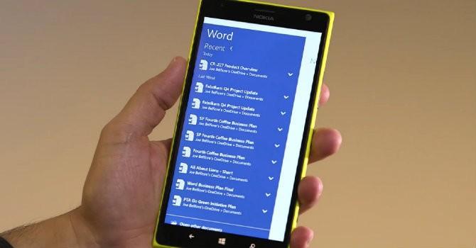 Microsoft Office chính thức có mặt trên smartphone Android