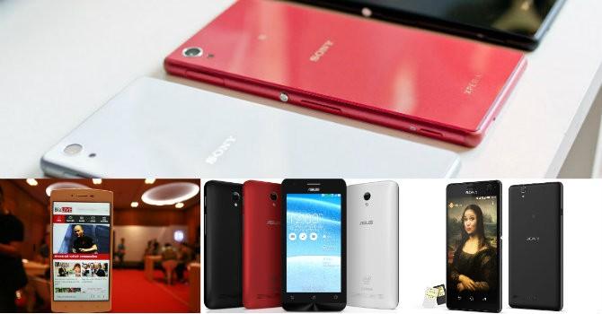 """Điểm mặt """"tân binh"""" mới nhất trên thị trường smartphone Việt"""