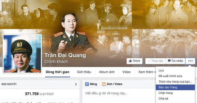 """""""Xử"""" Facebook mạo danh chính khách thế nào?"""