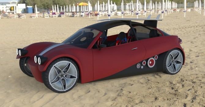 Ra mắt ô tô sản xuất bằng công nghệ in 3D
