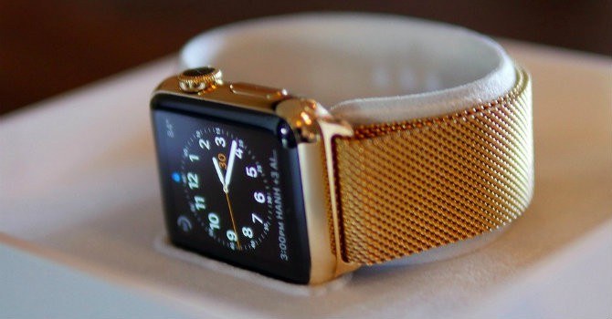 """Apple Watch sẽ có phiên bản mạ vàng """"giá rẻ"""""""