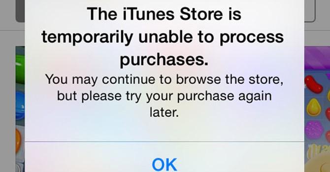 Apple Music, App Store, iTunes gặp sự cố gián đoạn dịch vụ