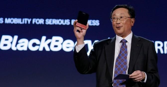 CEO BlackBerry đã chuẩn bị tinh thần bỏ sản xuất smartphone
