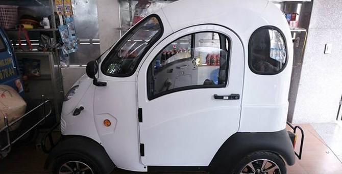 Cận cảnh xe ôtô điện chỉ 65 triệu tại Việt nam