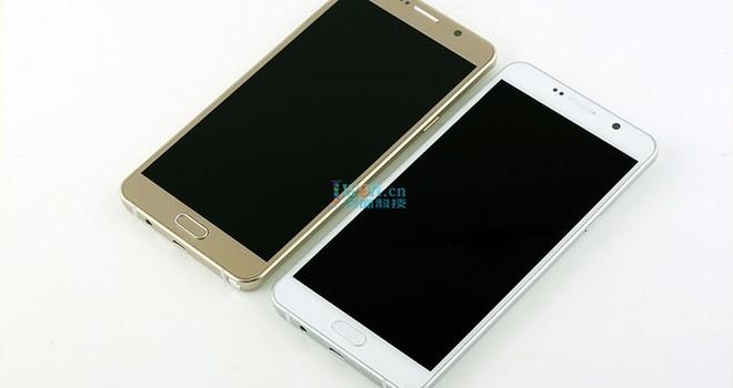 Galaxy Note 5 màu vàng và bạc lộ ảnh sát giờ ra mắt