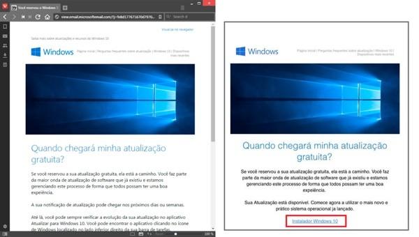 Giả mạo trang cài đặt Windows 10 để cài trojan đánh cắp dữ liệu