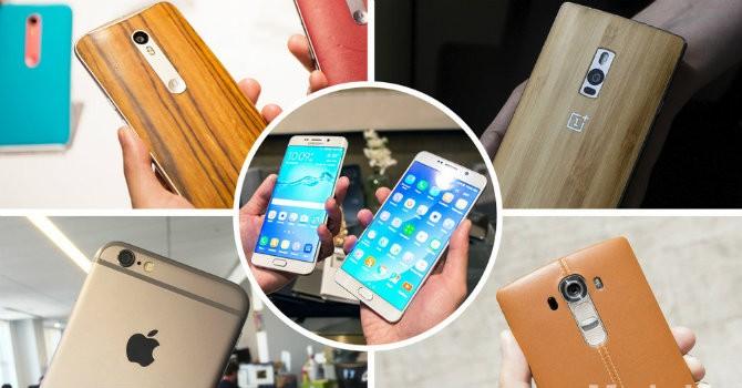 """""""Đọ găng"""" 5 smartphone cao cấp nhất hiện nay"""