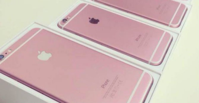 """iPhone 6s """"lộ ảnh"""" màu hồng?"""