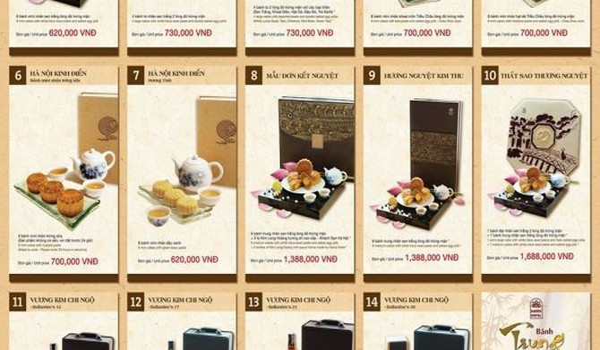 Thị trường bánh Trung thu: Cuộc chạy đua của những hộp bánh