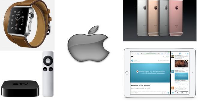 [Infographic] Những điểm mới nhất trên các sản phẩm của Apple