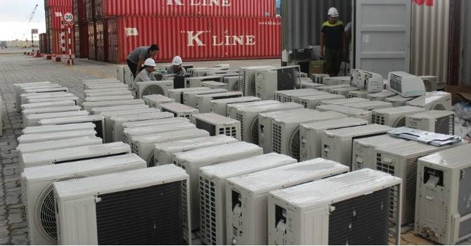 Thu giữ lô hàng điện tử nhập lậu trên 200 triệu đồng