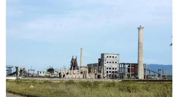 """Nhà máy tuyển quặng """"chết yểu"""", nợ xấu hơn 100 tỷ đồng"""
