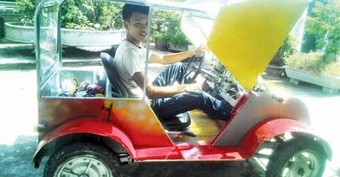 Công nghệ 24h: Thiếu niên Việt chế tạo ô tô chạy bằng năng lượng mặt trời