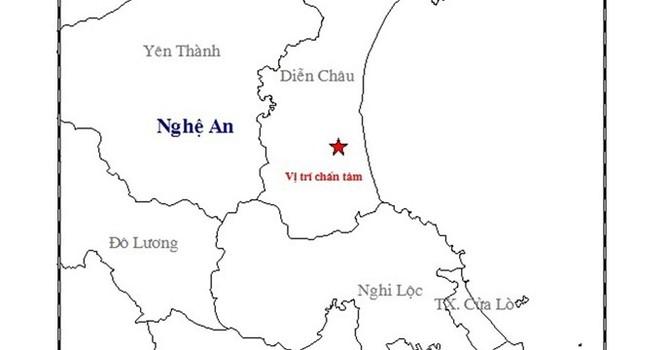 Rung chấn 3,6 độ Richter, dân Nghệ An hoảng sợ