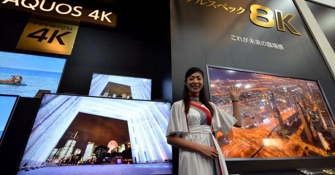 TV 8K đầu tiên trên thế giới, giá gần 3 tỷ đồng!