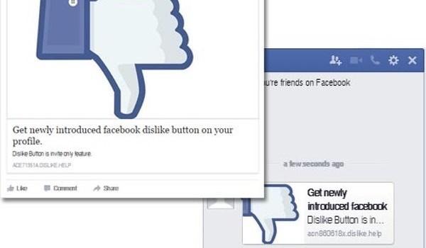 """Lợi dụng nút """"dislike"""" để lừa đảo trên Facebook"""